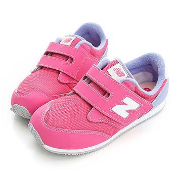 New Balance (童)時尚有型舒適慢跑鞋-粉-KV620PVP
