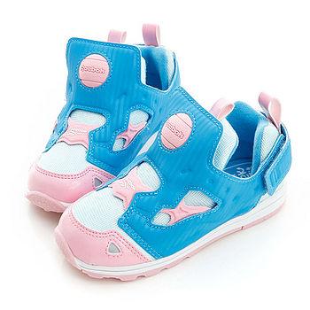 REEBOK (童)Pump Fury 經典復古鞋-藍粉-V62995