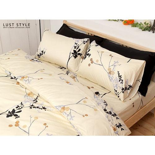 LUST寢具【京都古風】100%精梳純棉雙人鋪棉6x7尺