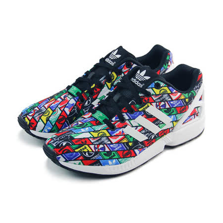 (男女)ADIDAS ZX FLUX 休閒鞋 多重色彩/黑-B24904
