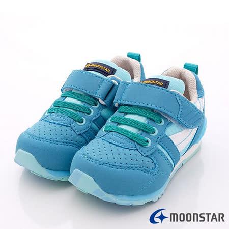 日本Carrot機能童鞋-輕量機能款-CRC21215藍(14cm-20cm)