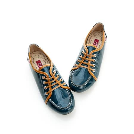 【effie】 素雅百搭休閒鞋-藍綠