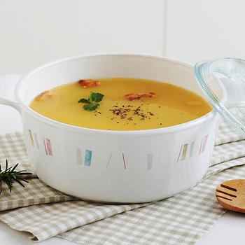 CORELLE 康寧自由彩繪方型康寧鍋3L