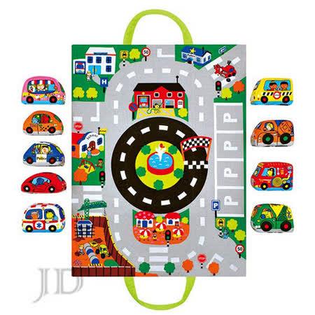 【 美國 K's Kids 】趣味車車隨身組 SB00421