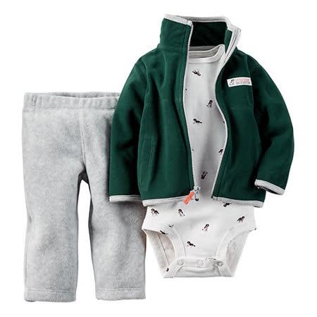 美國 Carter / Carter's 嬰幼兒秋冬外套包屁衣長褲三件組_CTBC026