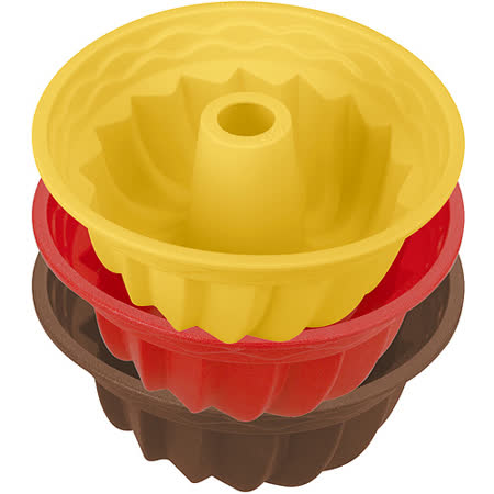 《TESCOMA》矽膠邦特蛋糕模(24cm)