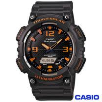 CASIO卡西歐 英超球隊風格太陽能雙顯優質腕錶 AQ-S810W-8A