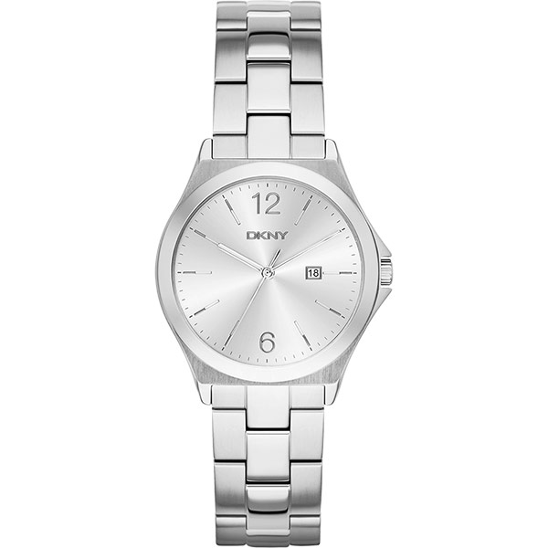 DKNY 紐約佳人都會腕錶~銀34mm NY2365