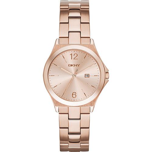 DKNY 紐約佳人都會腕錶~玫塊金34mm NY2367
