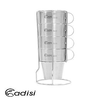 ADISI 生活家雙層不銹鋼杯組AS10123/城市綠洲專賣