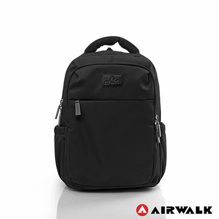AIRWALK - 晴艷彩耀極輕便隨掛行李箱拉桿之旅行後背包 - 國度黑