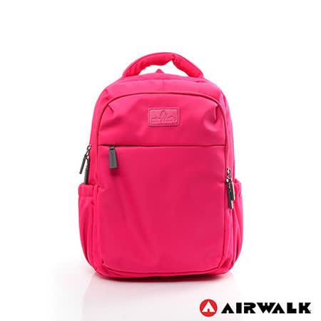 AIRWALK - 晴艷彩耀極輕便隨掛行李箱拉桿之旅行後背包 - 晴天桃