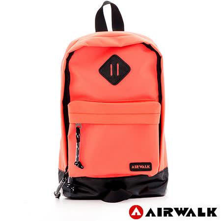 AIRWALK - 小豬斜背包 精彩時刻 雙色調豬鼻系小斜背包 - 小豬橙紅