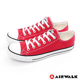 AIRWALK(男) - young.com 我的青春基本復刻款帆布鞋 - 迷人紅