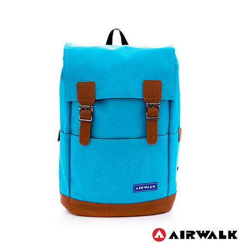 AIRWALK ~ 韓系街頭系列束口後背包 ~ 中藍