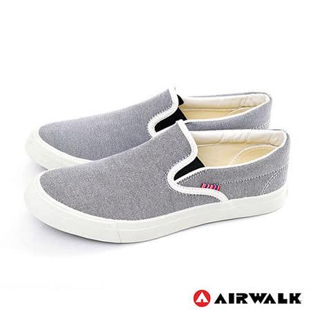 AIRWALK(女) - 滿點活力 馬卡龍調和色系 帆布鞋 - 馬卡黑