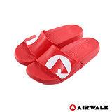 AIRWALK - 輕盈舒適中性EVA休閒多功能室內外拖鞋 - 紅