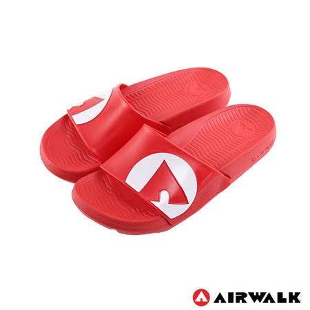 AIRWALK(男) - 輕盈舒適中性EVA休閒多功能室內外拖鞋 - 紅