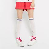 TOP GIRL 亮色反折短褲-紅