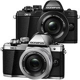 OLYMPUS OM-D E-M10 Mark II + EZ 14-42mm 單鏡組(公司貨)-加送64G 卡+專用電池x2+保護鏡+大吹球清潔組+拭鏡筆+HDMI+快門線+專用相機包