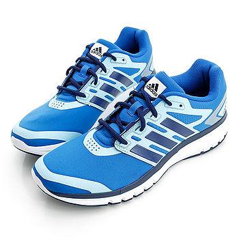adidas (男)BREVARD M 慢跑鞋-藍-B33545