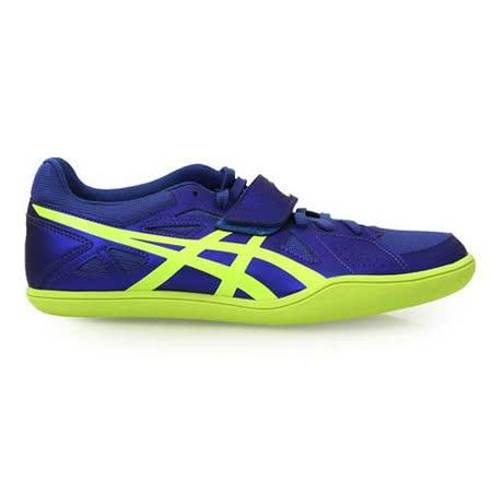 (男) ASICS HYPER THROW 3 投擲鞋- 鐵餅鉛球 田徑 藍螢光綠