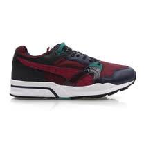 (男) PUMA TRINOMIC 1 XT PLUS 運動鞋-路跑 暗紅墨綠(品特)