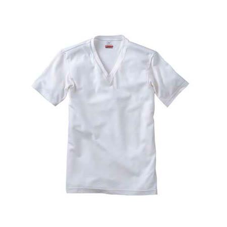 (男) MIZUNO BREATH THERMO 短袖發熱衣-T恤 保暖 消臭  淺灰(品特)