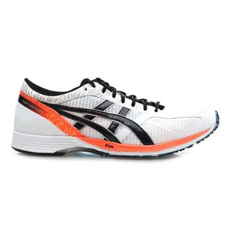 (男女) ASICS TARTHERZEAL 3 虎走 路跑鞋 - 慢跑鞋 白橘黑(品特)