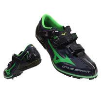 (男女) MIZUNO CITIUS SPRINT BL 田徑釘鞋-短距離 黑綠(品特)