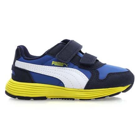 (童) PUMA FUTURE ST RUNNER V 男女兒運動鞋 藍芥末黃