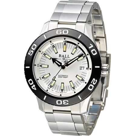 BALL Watch FIREMAN 戰火勇士系列機械錶 DM3090A-SJ-WH
