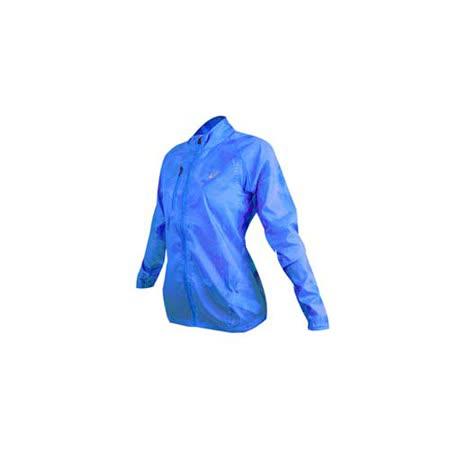(女) ASICS 立領外套 - 慢跑 輕薄 風衣 亞瑟士 淺藍