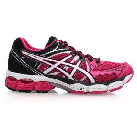 (女) ASICS GEL-PULSE 6 慢跑鞋 - 路跑 亞瑟士  桃紅黑