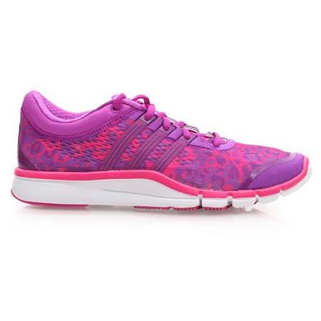 (女) ADIDAS ADIPURE 360.2 綜合訓練鞋 - 慢跑 健身 紫桃紅