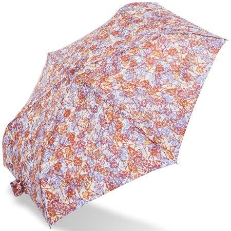 【rainstory】浪漫花漾(橘)抗UV輕細口紅傘