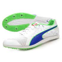 (男) PUMA TFX DISTANCE V5 田徑釘鞋 - 長距離 白藍綠