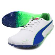 (男) PUMA BOLOT EVOSPEED V2短距離田徑釘鞋- 白藍綠