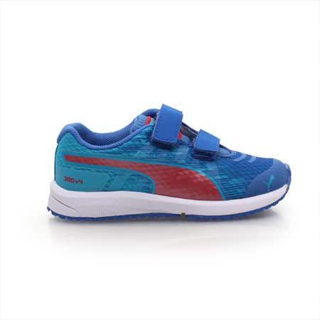 (童) PUMA FAAS 300 V4 V KIDS 男女兒慢跑鞋-運動鞋 跑步 藍