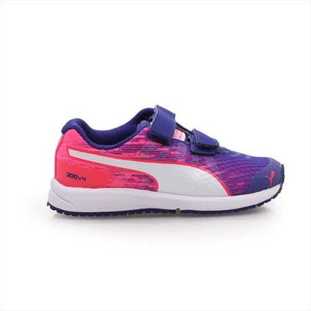 (童) PUMA FAAS 300 V4 V KIDS 男女兒慢跑鞋-運動鞋 紫粉紅