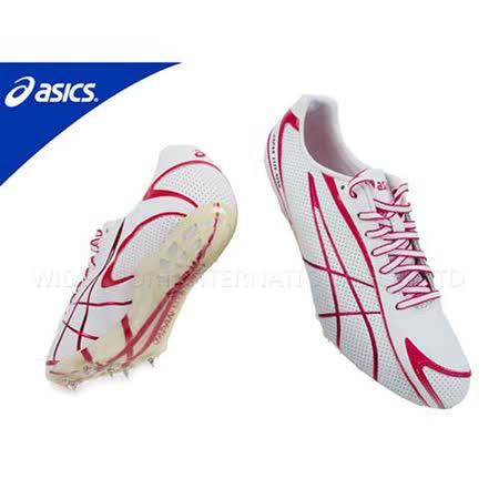 (男) ASICS JAPAN LITE-NING 3 短距離田徑釘鞋 白紅