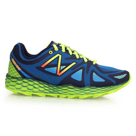 (男) NEWBALANCE FRESH FOAM 980 2E慢跑鞋 寶藍螢光綠