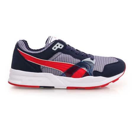 (男) PUMA TRINOMIC XT 1 PLUS 休閒鞋-復古慢跑鞋 丈青紅