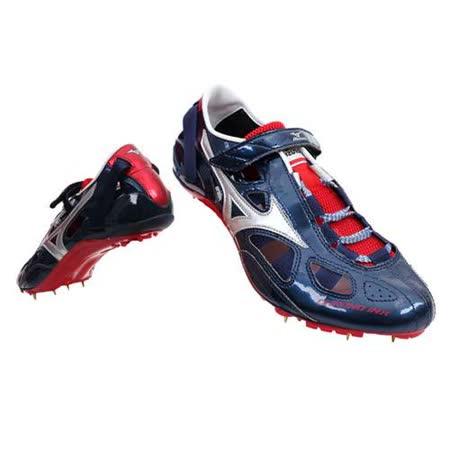 (男女) MIZUNO CHRONO INX9日製田徑釘鞋-日本製 短距離  美津濃 丈青銀紅