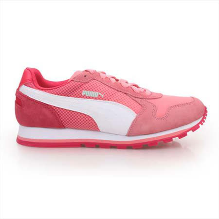 (女) PUMA ST RUNNER SHADES休閒運動鞋-復古休閒鞋 玫紅白