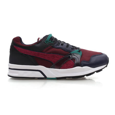 (男) PUMA TRINOMIC 1 XT PLUS 運動鞋-路跑 暗紅墨綠