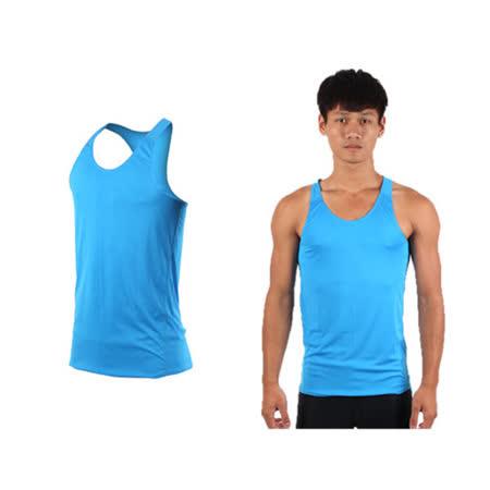 (男女) HODARLA 無感挖背背心-輕量 抗UV 0秒吸濕排汗 台灣製 寶藍