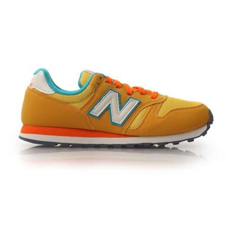(童) NEWBALANCE WL373 男女兒復古休閒鞋- 鞋 NB N字鞋  橘黃