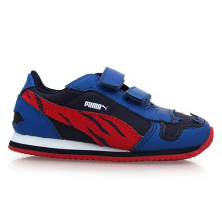 (童) PUMA 男兒慢跑鞋-鞋 運動鞋 藍紅