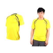 (男) ASICS LOGO 短袖T恤-慢跑 路跑 亞瑟士 寶藍螢光綠